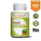 MSM (Methylsulfonylmethane) 1000mg Capsules Joint Health Support Pain Relief $12.99 USD on eBay