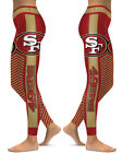 San Francisco 49ers Leggings Small-XXL (0-14) Football Fan Gift Game Gear Stripe $22.99 USD on eBay