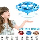 Mini Drone Smart Infrared Sensing Quadcopter Levitation UFO Aircraft Kids Toys