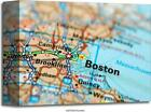 Boston Art/Canvas Print. Poster, Wall Art, Home Decor