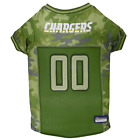 Pets First Los Angeles Chargers Camo Jersey