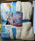 Disney FROZEN 2 Cloud Touch Sherpa Throw Blanket 50in x 60in (Assorted Designs) image