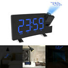 Digital Projection Ceiling Projector Snooze Dimmer LCD Alarm Clock USB FM Radio