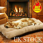 Large Pet Bed Mattress Dog Cushion Pillow Washable Soft Winter Warm Blanket UK