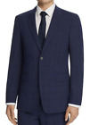 THEORY Men's Chambers Windowpane Slim Fit Suit Jacket Size 44 R New $595