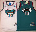 NWT Mike Bibby #10 Vintage Throwback Vancouver Grizzlies WHITE Men's Jersey