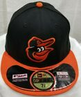 BALTIMORE ORIOLES~MLB~NEW ERA~59FIFTY~AUTHENTIC~OFFICIAL ON FIELD CAP~NE TECH on Ebay