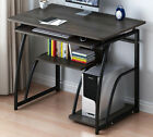 Small Computer Desk with Shelves Corner Laptop PC Table Study Home Office Wooden