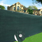 Commercial 200GSM Green Fence Privacy Screen Windbreak Cover Shade Tarp Netting