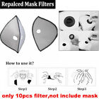 Breathable Face Mask Anti Gas Smoke Half Face Mask Reusable For Outdoor Sports