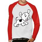Betty Boop Pudgy Jumps Men's Baseball T-Shirt £19.95 GBP on eBay