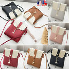 Women Handbag Shoulder Bag Messenger Tote PU Leather Ladies Purse Satchel Bag image