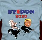 BYEDON 2020  cartoon - T-Shirt - bye don Joe Biden Donald Trump election image