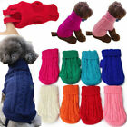 Popular Pet Cat Dog Knitted Jumper Winter Sweater Warm Coat Puppy Clothes Supply