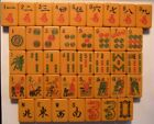 VINTAGE 1950's E.S.LOWE BAKELITE MAH JONG  REPLACEMENT TILES (SET AH)