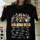 The Walking Dead Signature Lovers T-Shirt Black Cotton Men Made in USA image