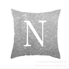 Grey Green LETTER POLYESTER CUSHION COVER PILLOW CASE WAIST THROW HOME SOFA DECO