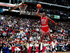 V0533 Michael Jordan Slam Dunk Chicago Bulls Retro Decor WALL PRINT POSTER