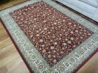 Soft High Quality Persian Design Floor Area Rugs Elite Red Allover