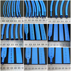 Blue 2:1 Heat Shrink Tube Dia 0.6mm - 80mm Polyolefin Cable Wire Tubing Sleeving