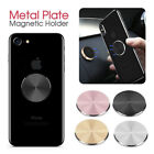 Magnetic Metal Plate Car Phone Holder Accessories Stand For Magnet Phone Support