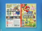 New Super Mario Bros U Deluxe Replacement Case: Double-sided Nintendo Switch