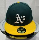 OAKLAND ATHLETIC A's~MLB~NEW ERA~59FIFTY~TEAM HEADWEAR~2017~GREEN on Ebay