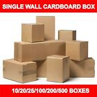 BROWN SHIPPING CARDBOARD BOXES POSTAL MAILING PACKET SMALL LARGE SIZE PARCEL