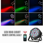 36-LED RGB Stage Lights Lights Remote Control for DJ Wedding Church Party Supply