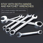 Ring Offset Spanner Set Wrench Garage Tool Deep Double Heads Wrench Spanner