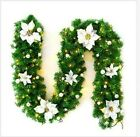 2m Christmas Garland XMAS Decorations Imperial Pine Fireplace Wreath