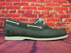 Womens Timberland Classic Unlined A1XMQ Gunmetal Leather Casual Boat Shoes