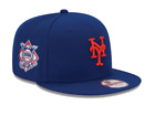 New York Mets New Era Baycik 9FIFTY Adjustable Snapback Hat - Blue on Ebay