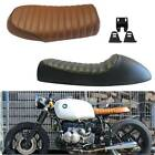 Motorcycle Vintage Cafe Racer Flat&Hump Saddle Seat For Honda Yamaha Suzuki GS $34.65 USD on eBay