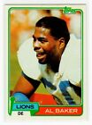 1981 Topps Football Complete Your Set You Pick/Choose #1-250 Rookies Free Ship!!Football Cards - 215