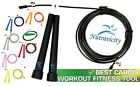 Nutravicity Speed Jump Rope Best for Boxing MMA Training Cardio Fitness Crossfit image