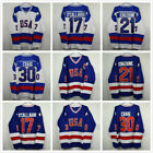 Kyпить Clearance Ice Hockey Jersey Vintage 1980 Miracle on Ice USA Hanson Mighty Ducks на еВаy.соm
