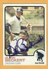1973 Topps Baseball Signed AUTO Autographed cards on Ebay