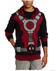 Deadpool Costume Hoodie - Black, XXL