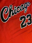 Michael Jordan #23 Chicago Bulls Red Rookie 1984 Mens Throwback Jersey on eBay