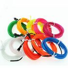 Car Led Light Interior Atmosphere Strip Lights Neon Bulb Colors Plugs Included