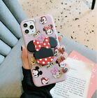 iPhone 11 Pro Minnie Mouse Cute Phone Case with Detachable Handle/Grip