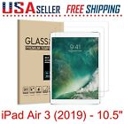 2 x Apple iPad Air 1 / 2 / 3 Tempered Glass Screen Protector Compatible Pencil