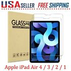 2 Pack For Apple iPad Air 4 / 3 / 2 / 1 Tempered Glass Screen Film Protectors🔴