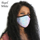 Sequins glitter Face Mask Women's Girls Fashion Mask Sequin Mask