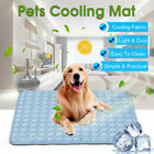 4 Sizes Pet Cooling Mat Dog Cat Heat Relief Bed Summer Cushion Pad Blue Pink UK