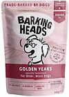 Barking Heads Wet Dog Food for Senior Dogs,Golden Years,Free-Run Chicken New