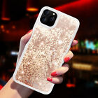 Glitter Bling Liquid Quicksand Shockproof Armor Cover Case For iPhone 11 Pro Max