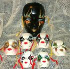 Kyпить Ceramic Mask Masquerade Decorative Large Med Small PAINTED FACES Collectible на еВаy.соm