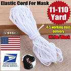 Kyпить 3mm Round Ear Hanging Elastic Band Cord Sewing Crafts DIY Material 10-100m USA на еВаy.соm